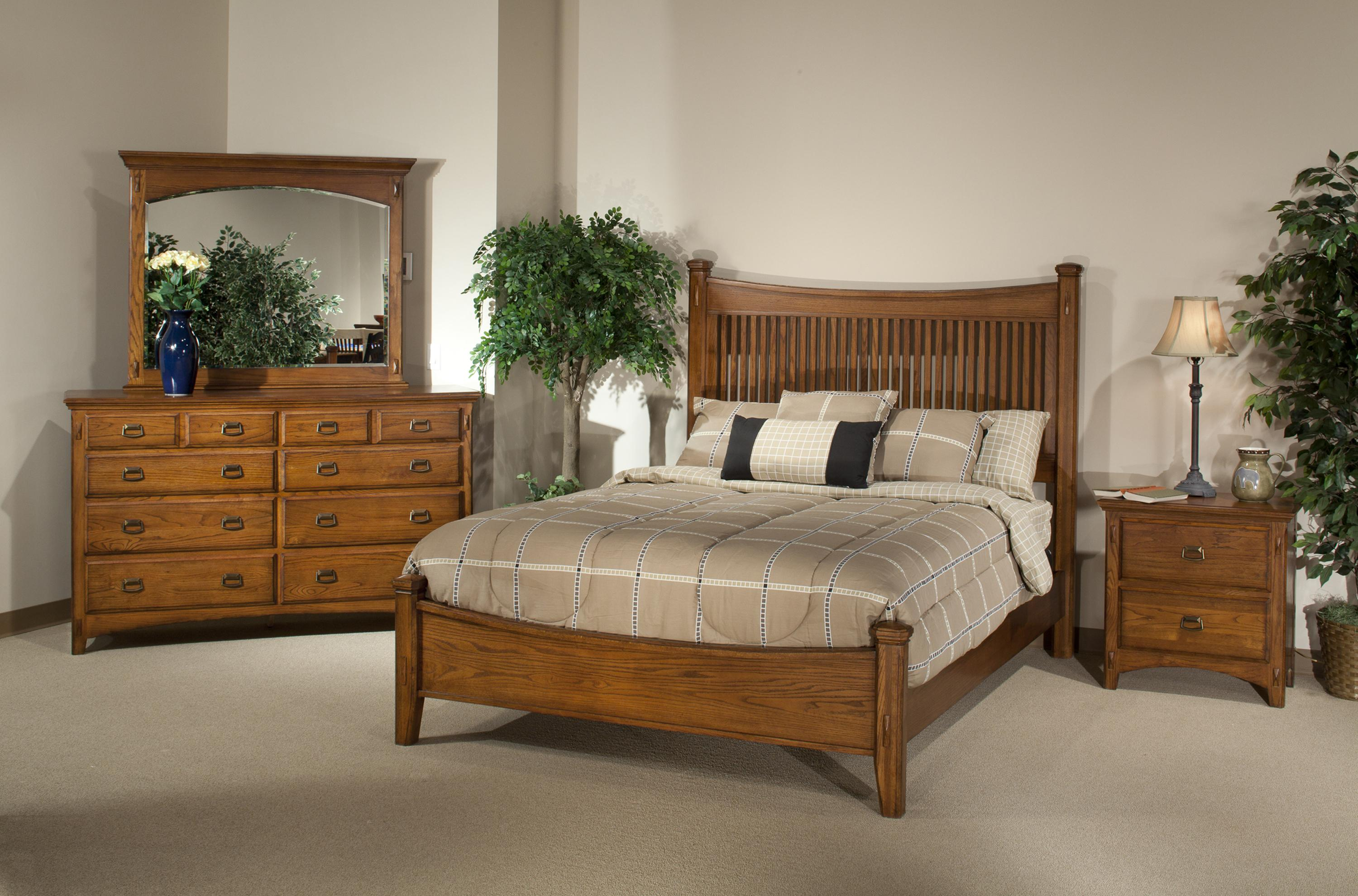 Intercon Pasadena Revival  Bedroom Group - Item Number: PR Q Bedroom Group 2