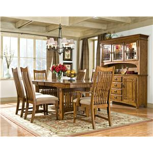 Intercon Pasadena Revival  Formal Dining Room Group