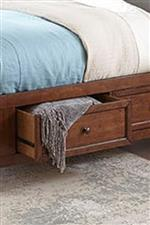 Footboard Storage Drawer