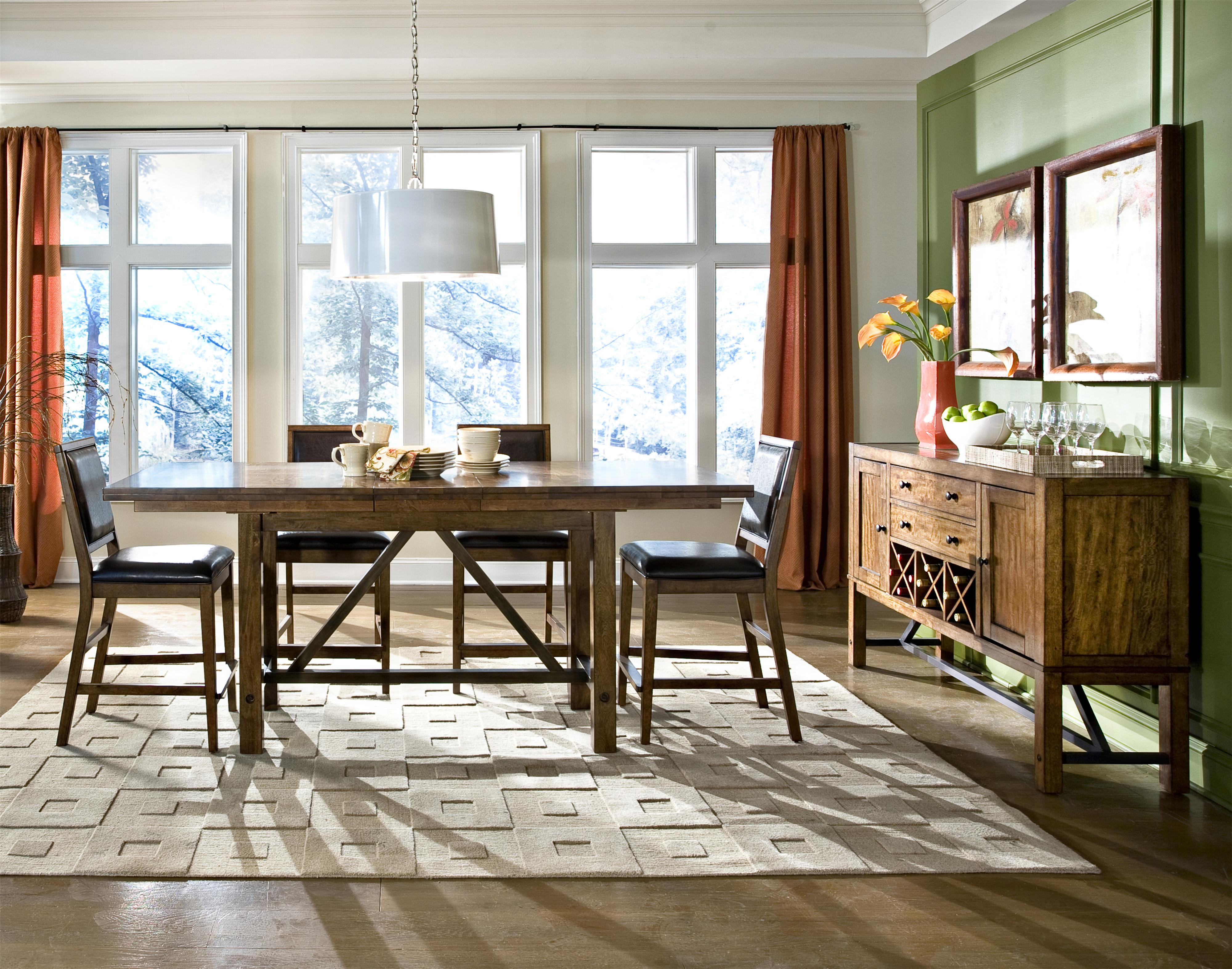 Santa clara casual dining room group by intercon wolf for Casual dining room