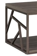 Geometric metal frame
