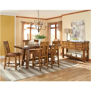 Intercon Timberline Casual Dining Room Group