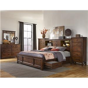 Intercon Wolf Creek Queen Bedroom Group