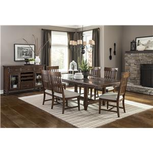 Intercon Wolf Creek Casual Dining Room Group