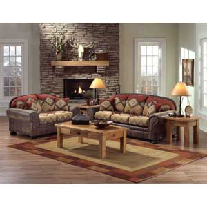 Good Intermountain Furniture Navajo Southwest Style Loveseat