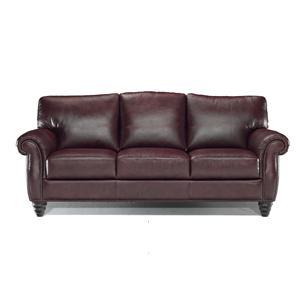 Charmant Italsofa I 186 Upholstered Leather Sofa