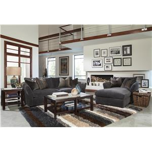 Jackson Furniture Brighton Stationary Living Room Group