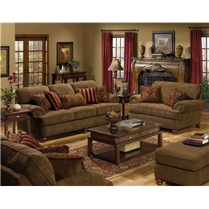 Jackson Furniture Belmont Stationary Living Room Group