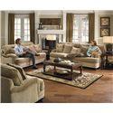 Jackson Furniture Brennan Stationary Living Room Group - Item Number: 4438-2697-26 Living Room Group 2