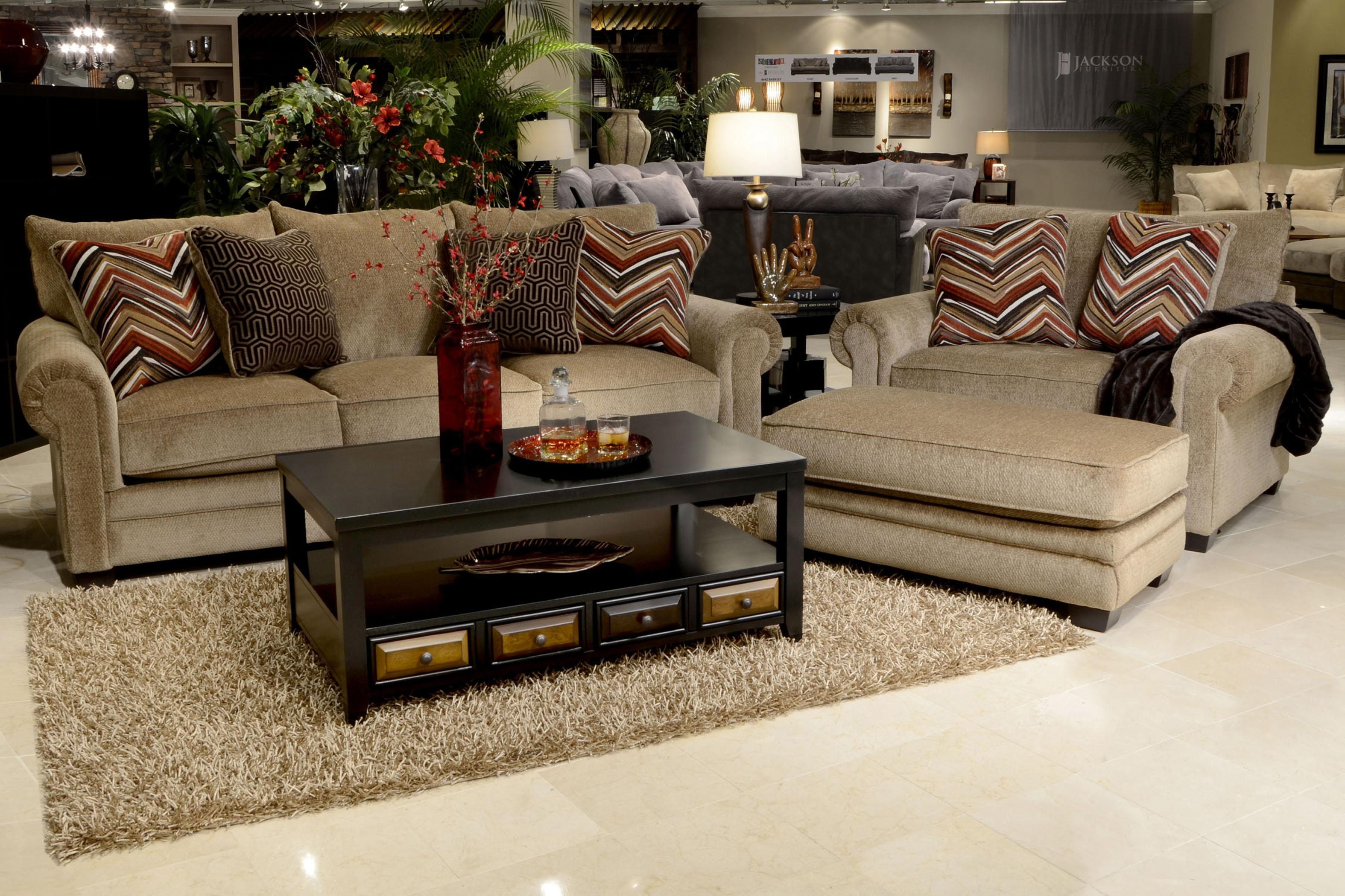 Merveilleux Jackson Furniture Anniston Upholstered Ottoman | Wayside Furniture |  Ottomans