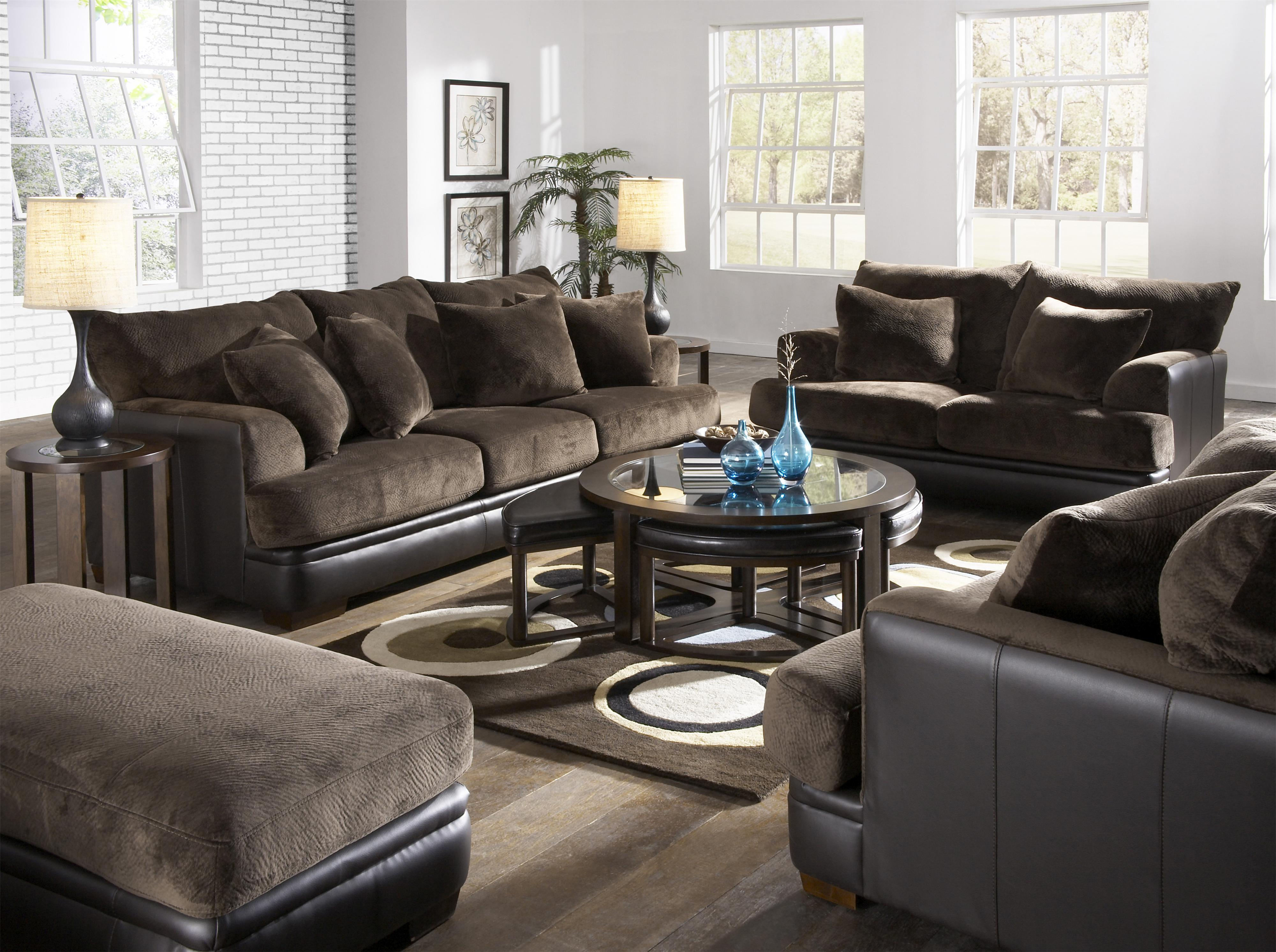 Jackson Furniture Barkley Large L Shaped Sectional Sofa with Right