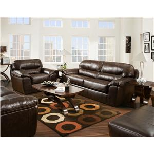Jackson Furniture Brantley  Stationary Living Room Group