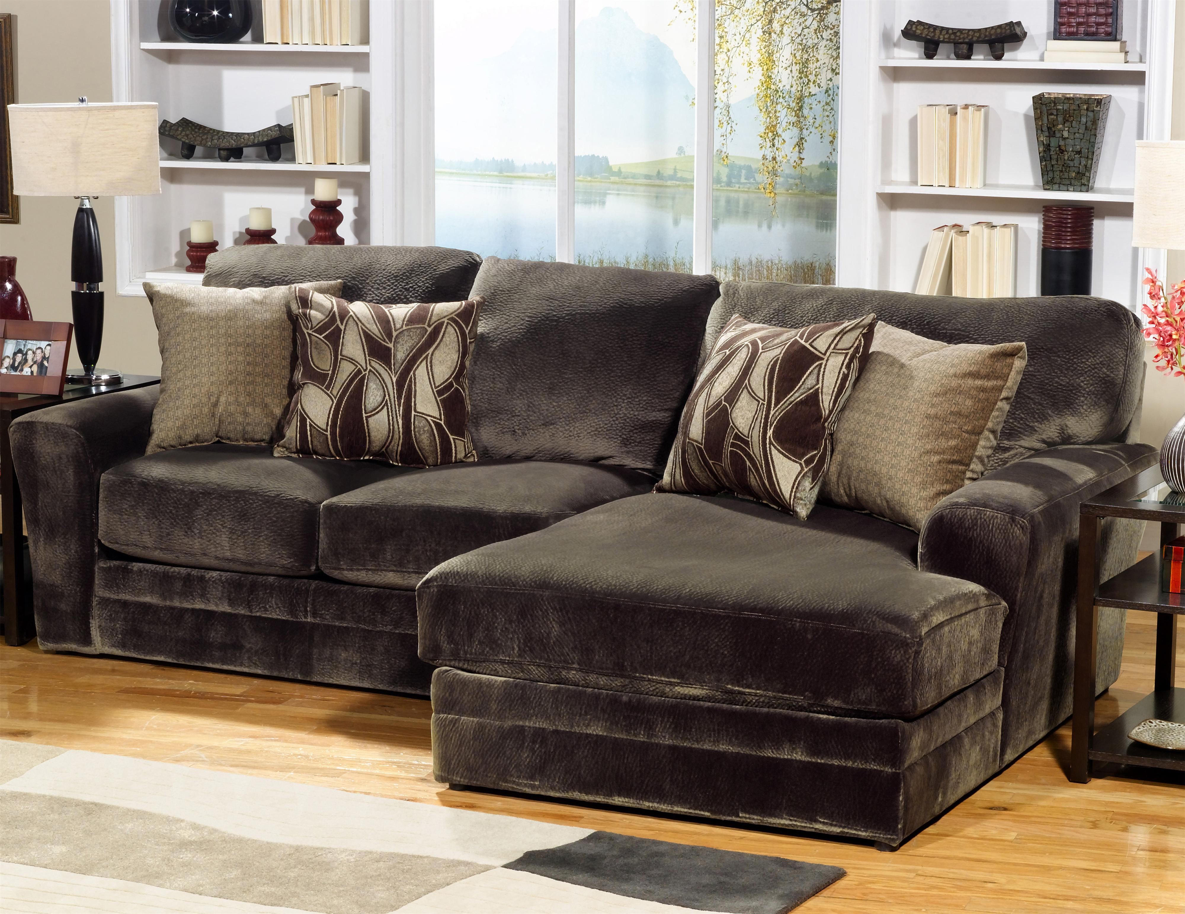 4377 Everest 3 Piece Sectional with RSF Section Ruby Gordon Home