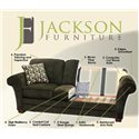 Jackson Furniture 4377 Everest 3 Piece Sectional with LSF Section - Quality Features
