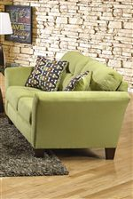 Light Tufts on the Back Cushions in this Collection help to Create a Casual and Comfortable Environment for your Sitting Space