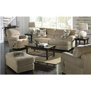 Jackson Furniture Hayden Loveseat with Extra Padded Seat Back