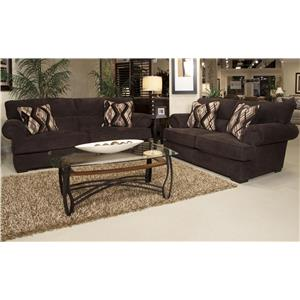 Jackson Furniture Hayden Stationary Living Room Group
