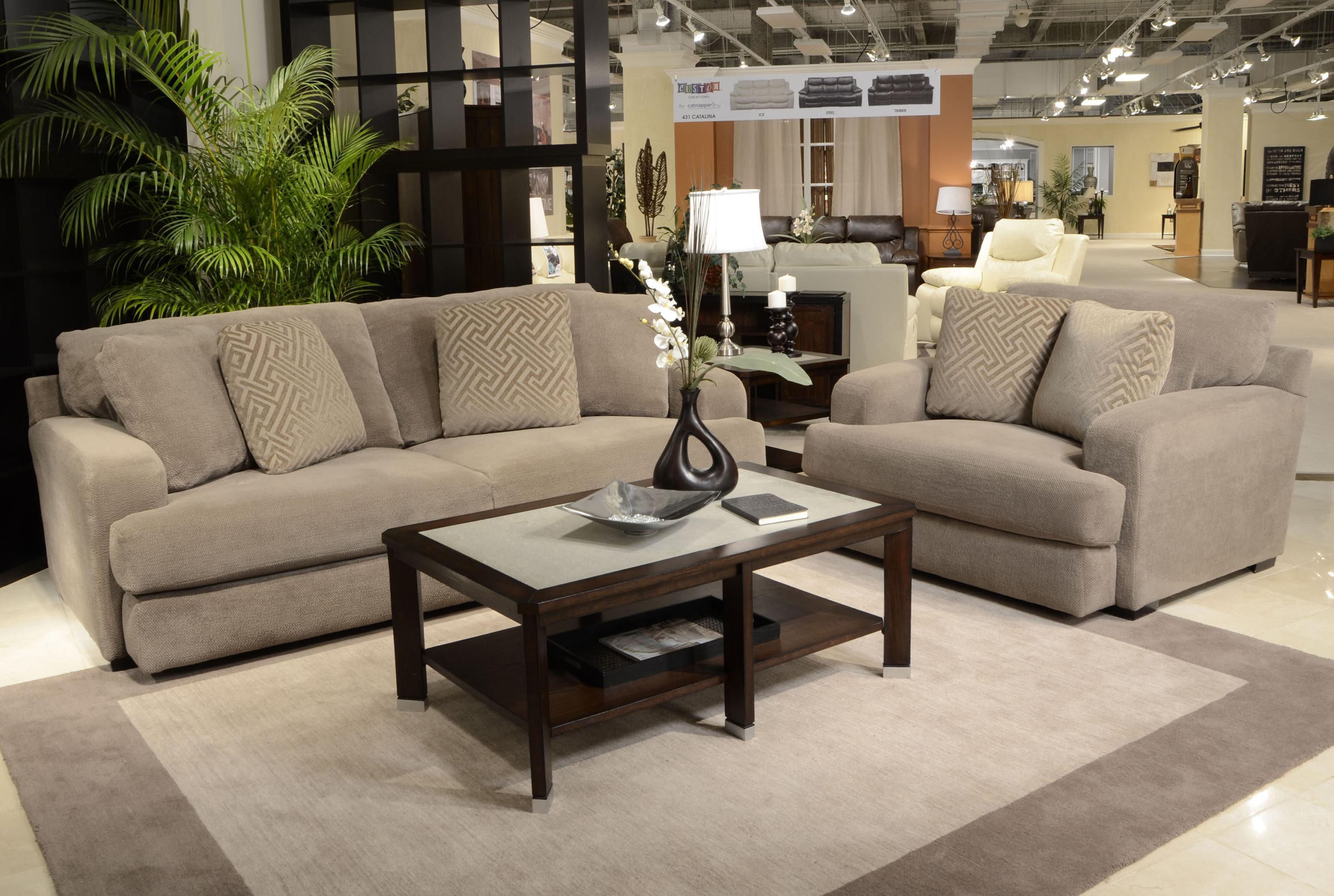 Jackson Furniture Palisades Stationary Living Room Group - Item Number: 4186 Livinig Room Group 5