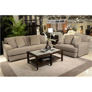 Jackson Furniture Palisades Casual Modern Sofa