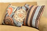 Coordinating Accent Pillows Add an Eye-Catching Detail to Upholstered Items