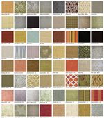 Beautiful Fabrics in Solids, Plaids, Tapestries and Prints Add Distinctive Texture and Style
