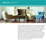 Jessica Charles: Custom Handmade Accent Seating in Fashionable Silhouettes that Express Your Style