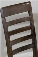 Ladder-Style Chair Backs