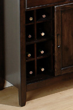 Removable Wine Rack in Server