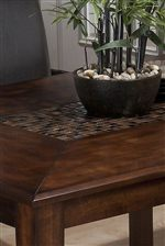 Mosaic Inlay on Table Tops