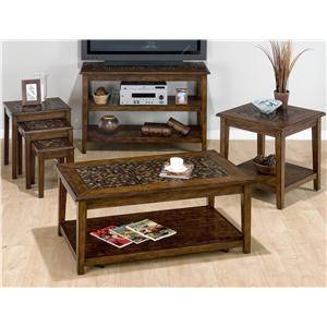 Jofran Baroque Brown Occasional Table Group
