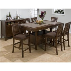 Jofran Caleb Brown Casual Dining Room Group