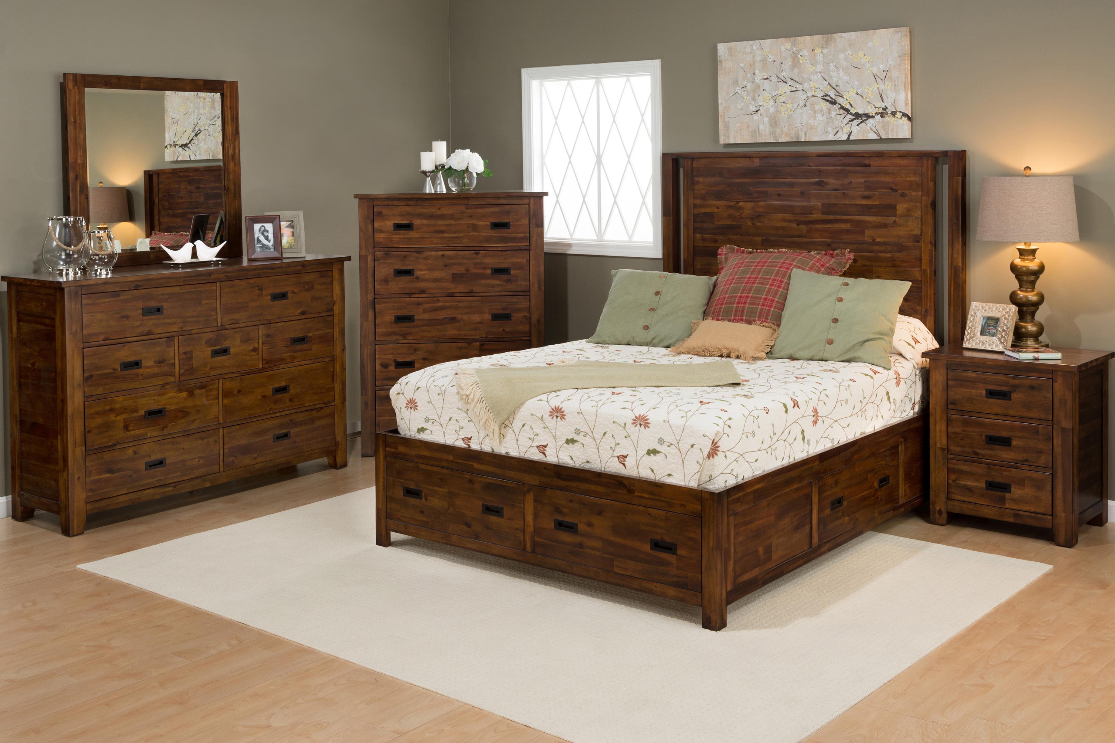 Jofran Coltran 5PC Queen Bedroom Set - Item Number: 1503 Q Bedroom Group 1