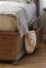 Storage Drawers in the Bed