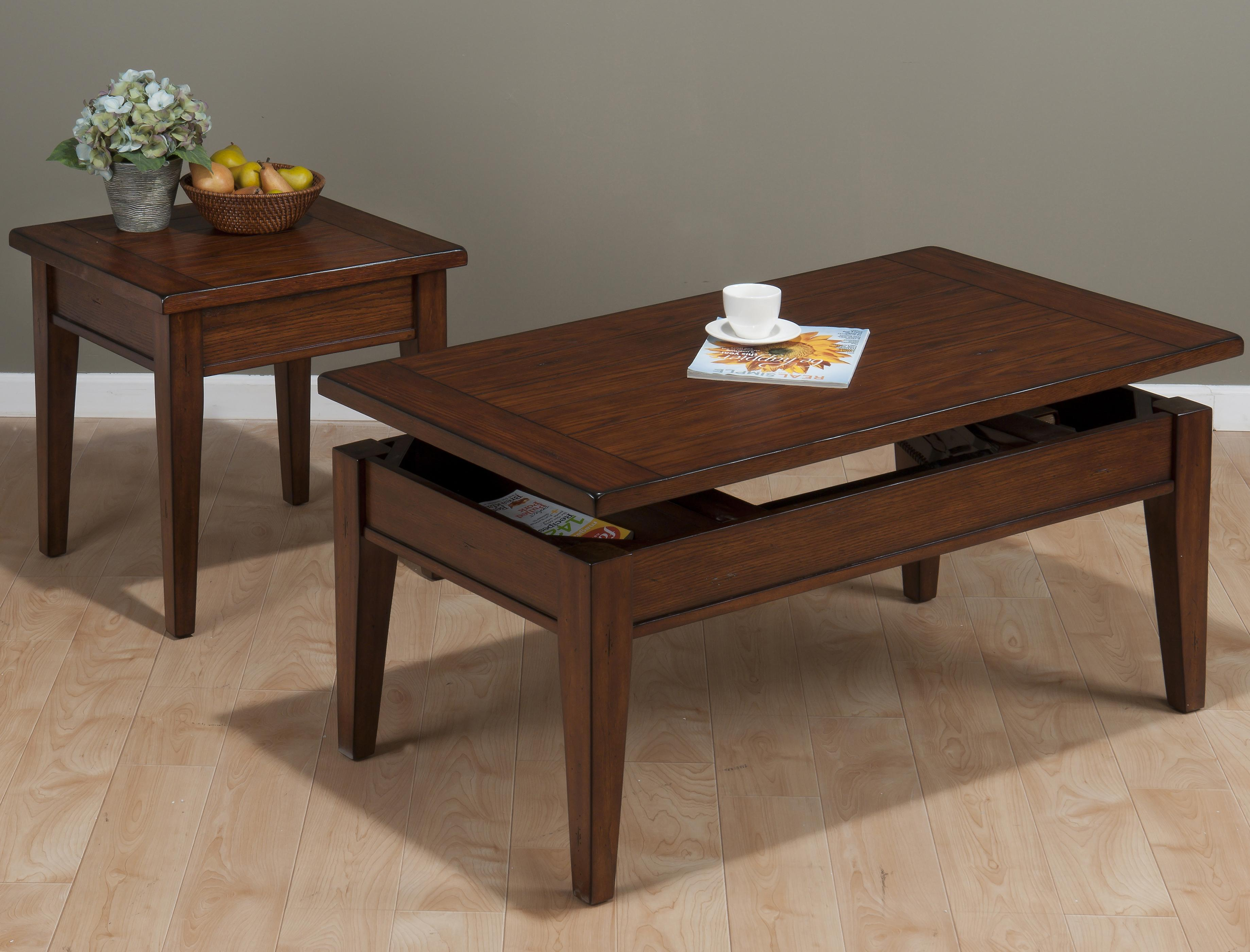Jofran Dunbar Oak Occasional Table Group - Item Number: 411 Occasional Table Group 1