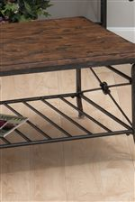 Select Tables Offer Slat Shelves