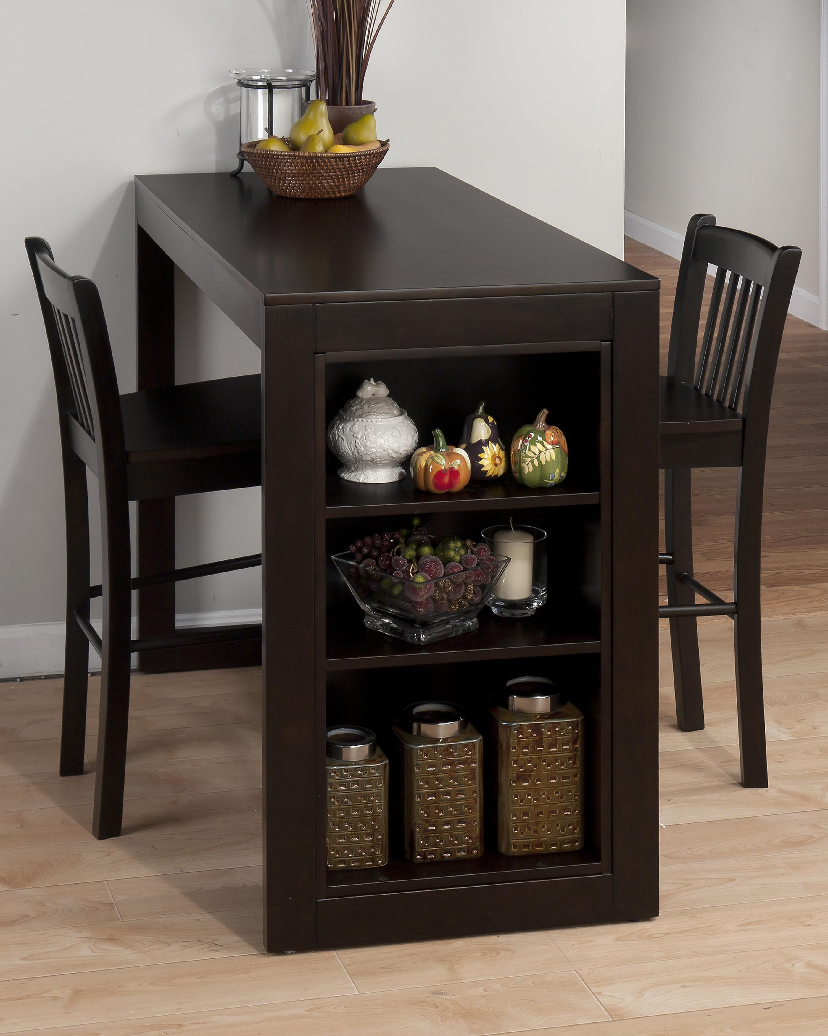 kitchen table with shelves | roselawnlutheran
