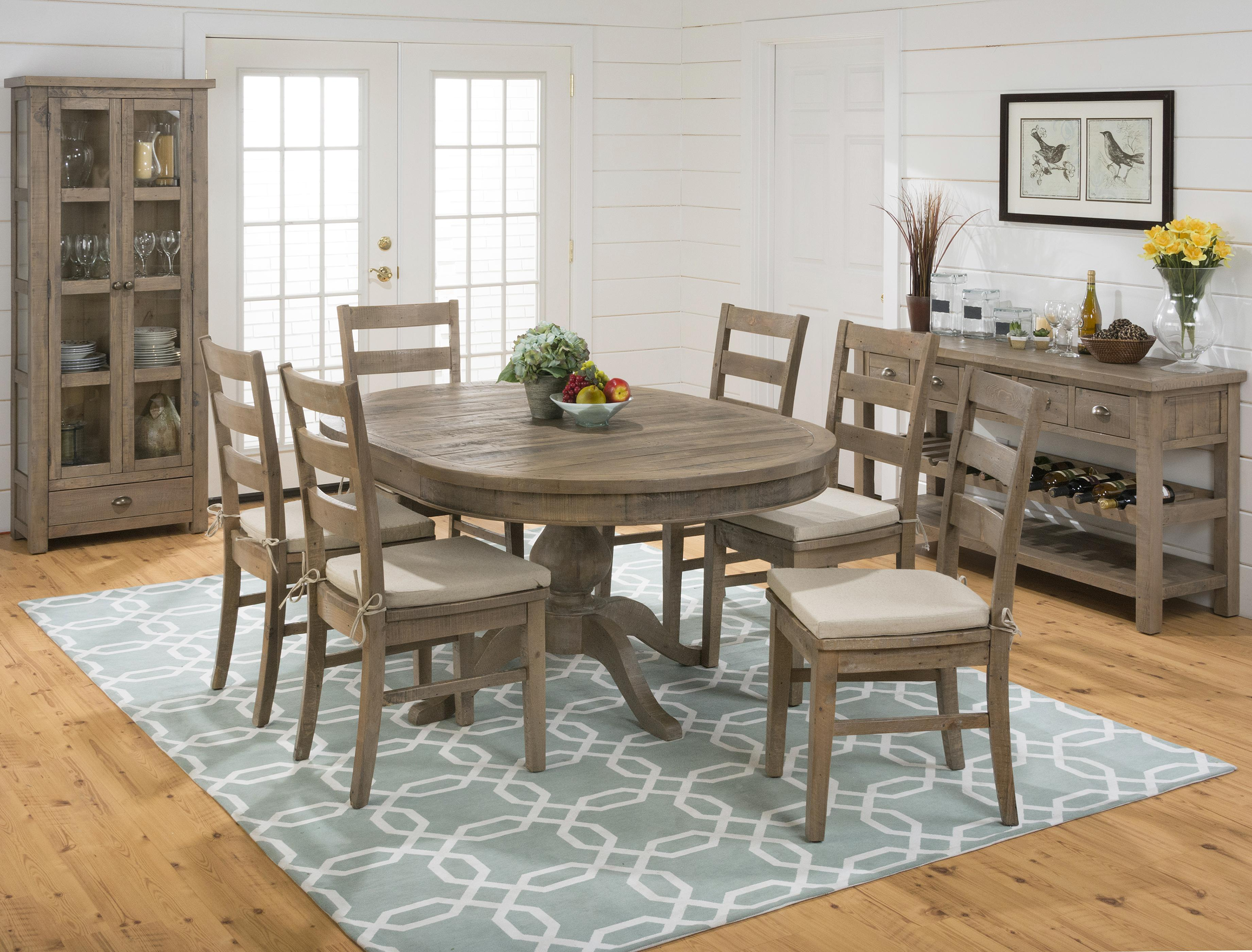 Jofran Slater Mill Pine Casual Dining Room Group | Powellu0027s Furniture And  Mattress | Casual Dining Room Groups