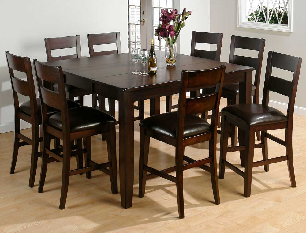 Amazing Jofran Dark Rustic Prairie Conventional Height Butterfly Leaf Dining Table  With Hand Hewn Corners, Burnished Edges And Rugged Scale   Furniture  Options New ...