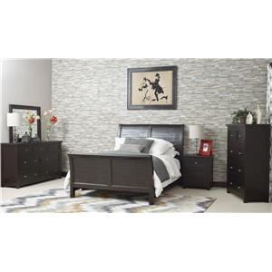 Jofran Prospect Creek King Bedroom Group