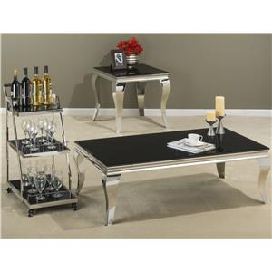 Morris Home Furnishings Tuxedo Occasional Table Group