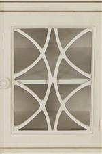 Traditional Design on Buffet Doors