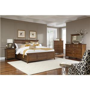 John Thomas Hudson Bay Transitional Queen Storage Bed With 6 Drawers