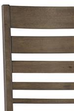 Ladder Back Design Adds Mission Influence