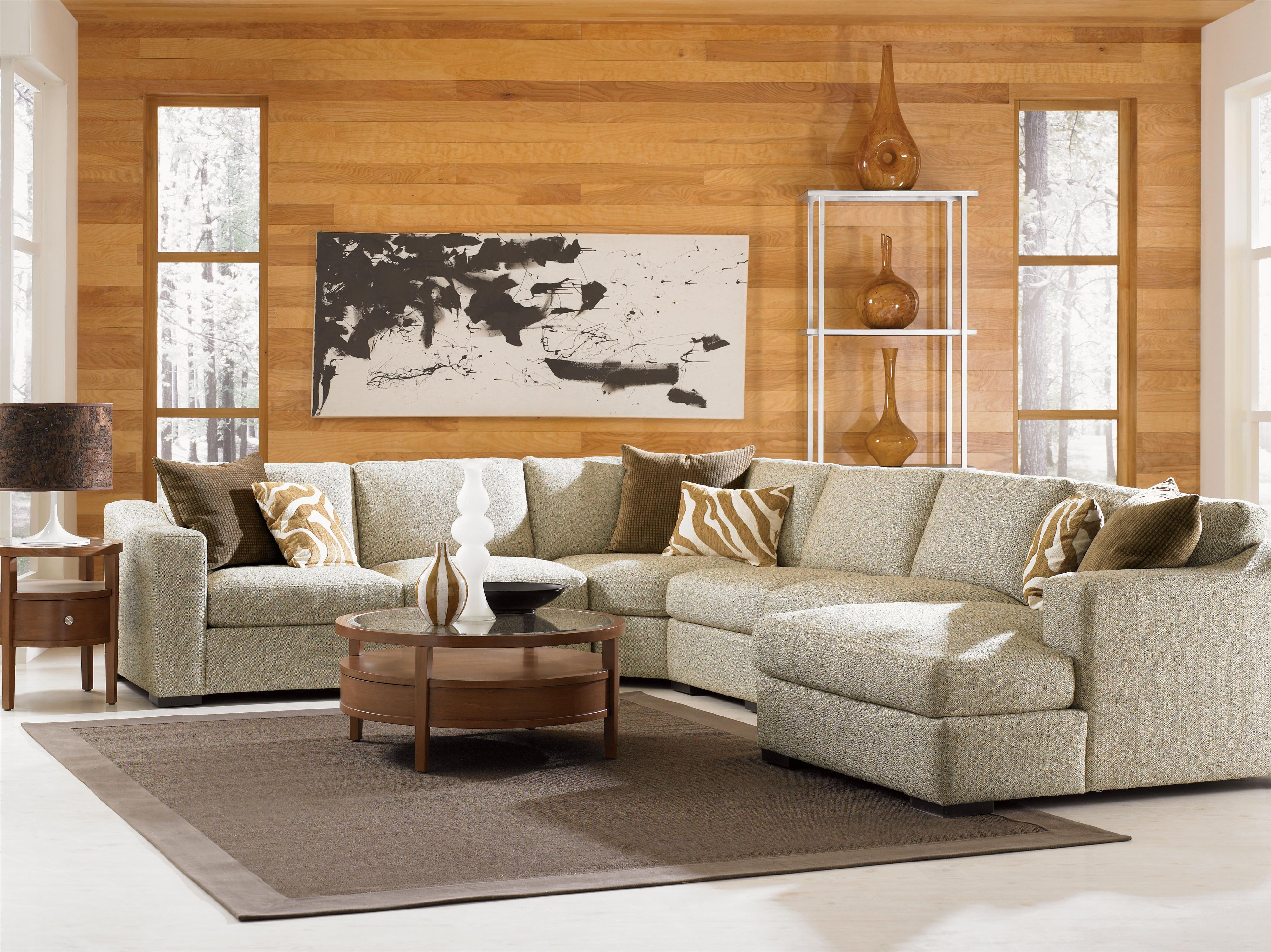 Jonathan Louis Lombardy Contemporary Sectional Sofa With Left
