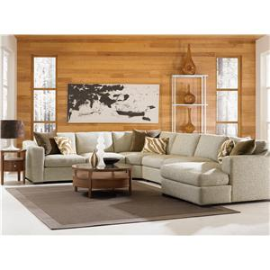 Jonathan Louis Ashland Modern L-Shaped Sectional Sofa