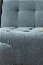 Tufted Seat and Seat Backs