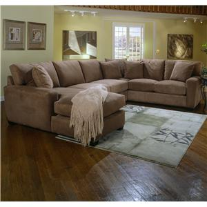 Jonathan Louis Benson 2 Piece Sectional in Gypsy Graphite