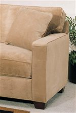 T-Style Back Cushions and Track Arms