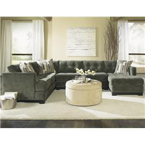 Landon  sc 1 st  Fashion Furniture : jonathan louis sectional choices - Sectionals, Sofas & Couches