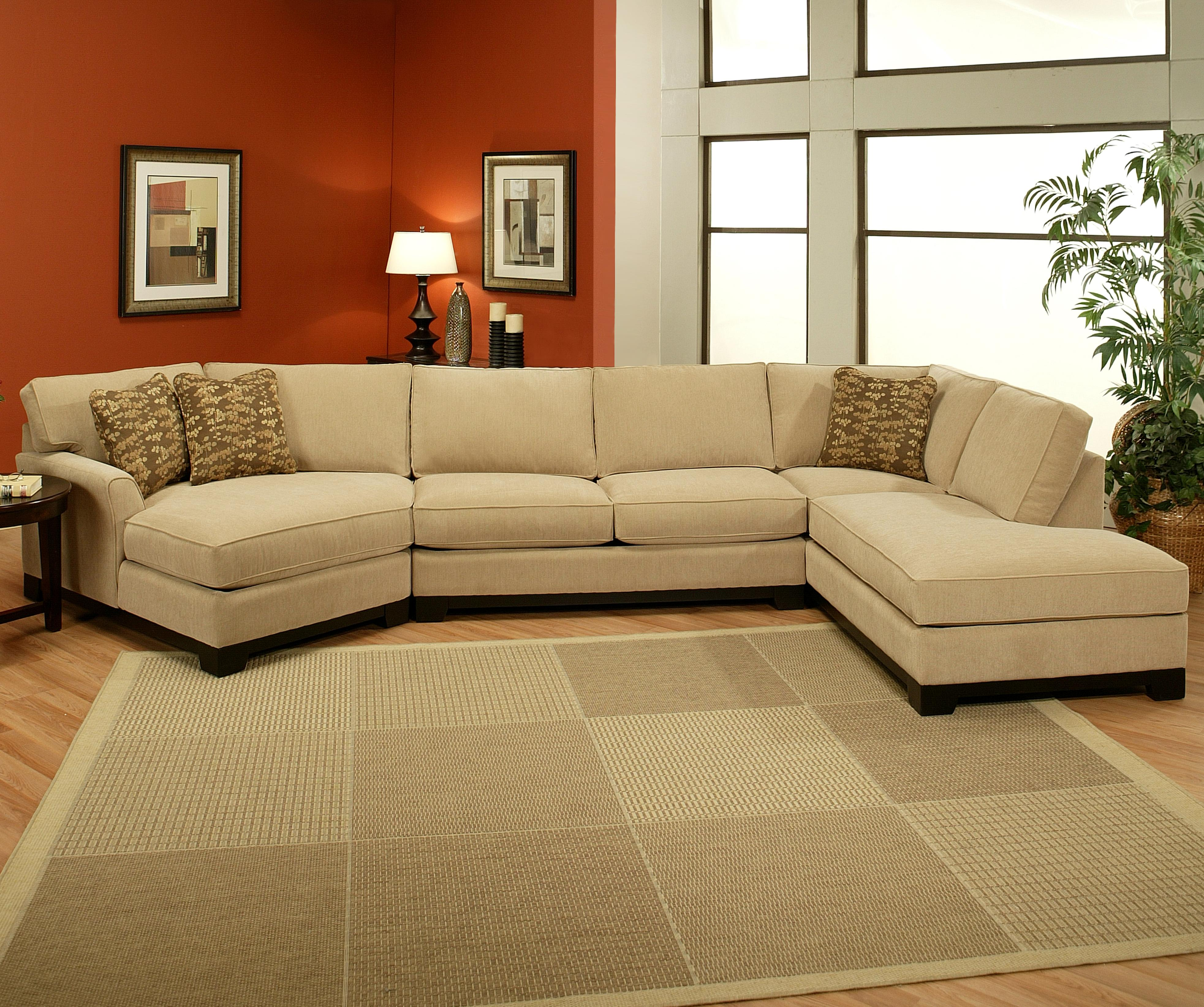 Jonathan Louis Sagittarius Casual 3 Piece Sectional With Laf Cuddler